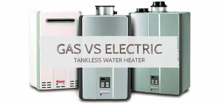 gas vs electric tankless water heaters: which is better? - hometechlab